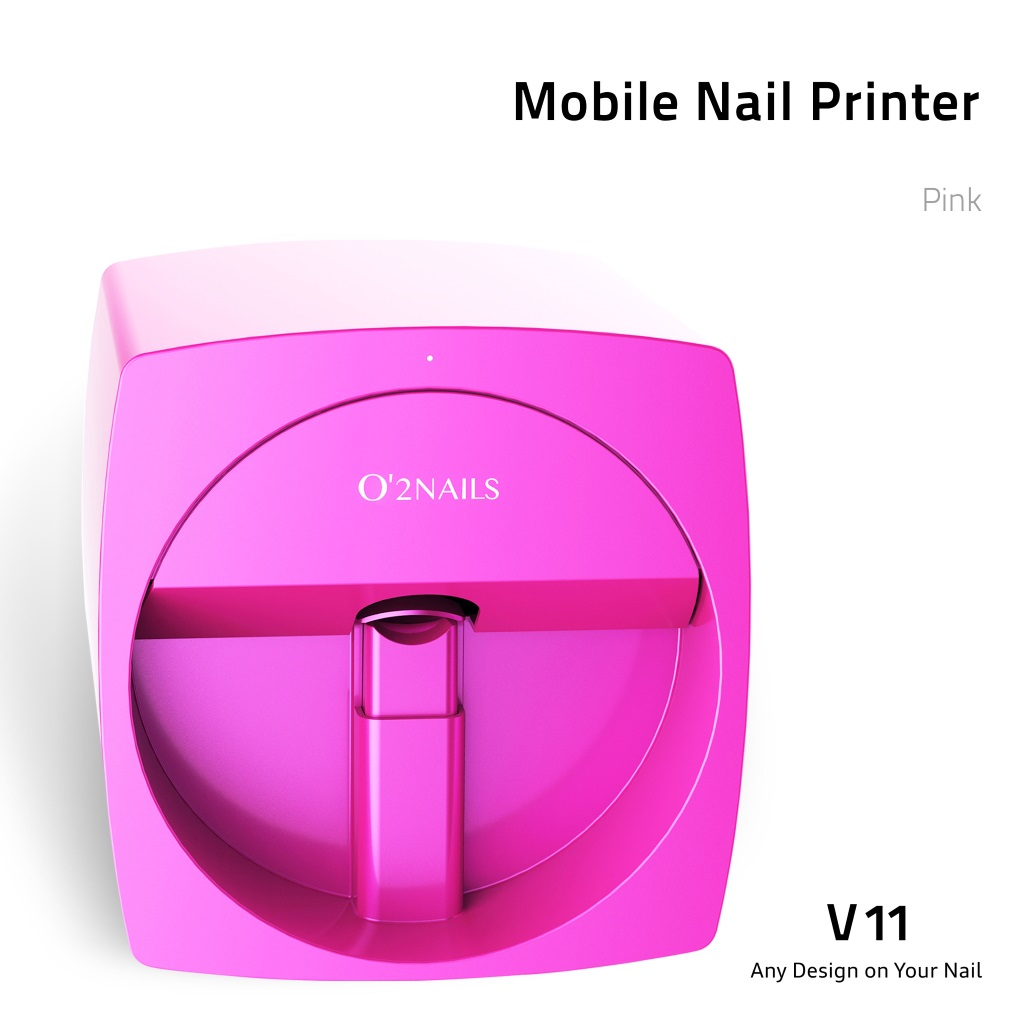 Mobile Nail Printer Model V11 O2 Nails Canada Beauty Store